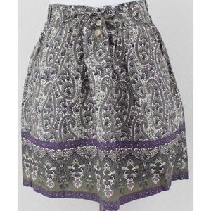 Converse FLORAL PAISLEY Skater FLARE SKIRT